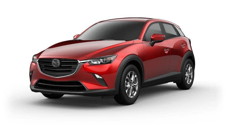2021 Mazda CX-3 Sport Soul Red