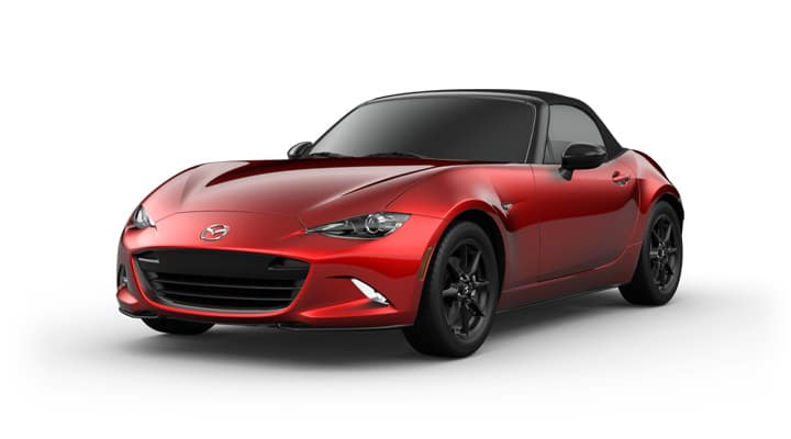 2021 Mazda MX-5 Miata Soft Top Sport Soul Red