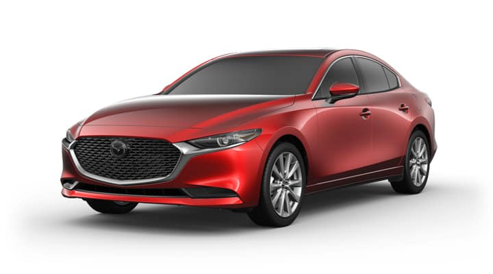 2021 Mazda3 Sedan Base Soul Red