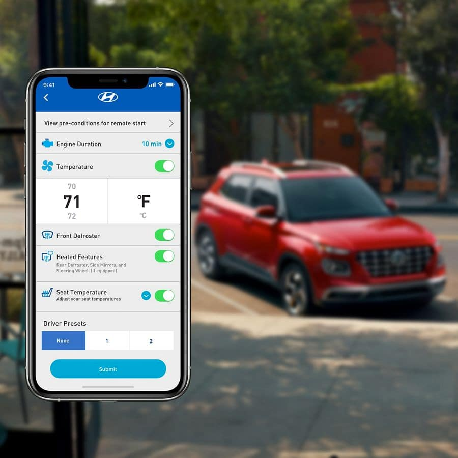 Blue Link® Connected Car System