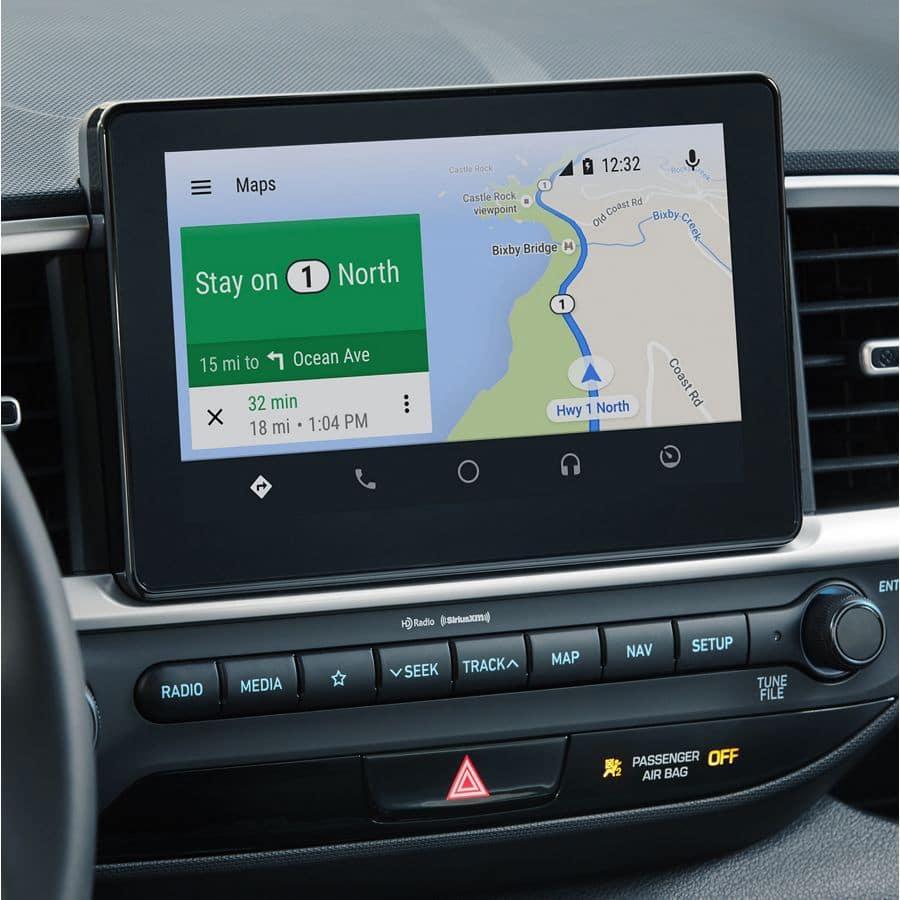 8-inch navigation system