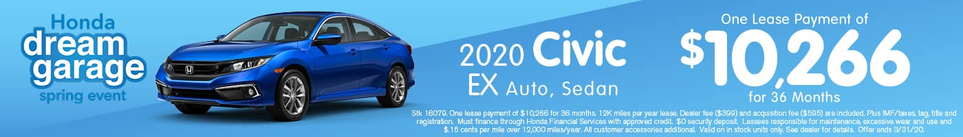 2020 Civic March offer