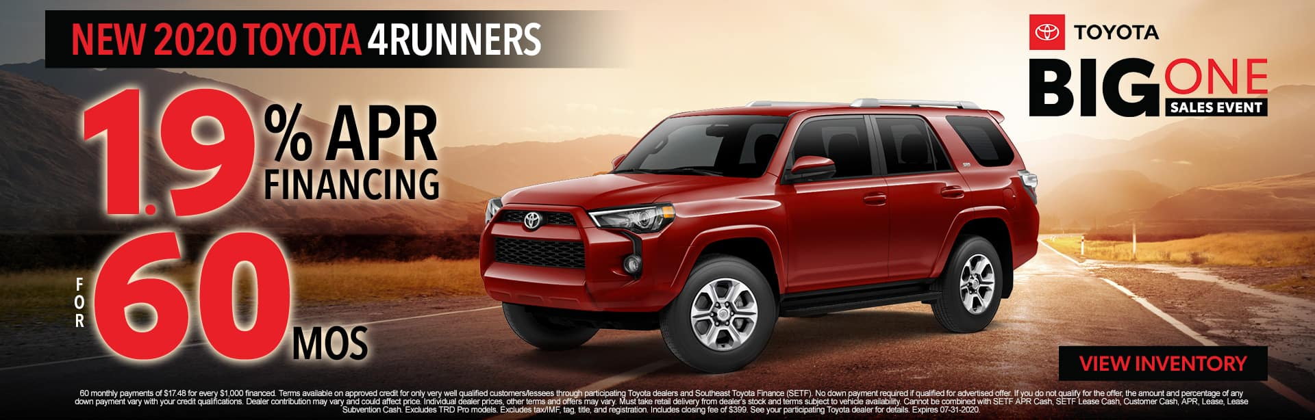 2020 Toyota 4Runners