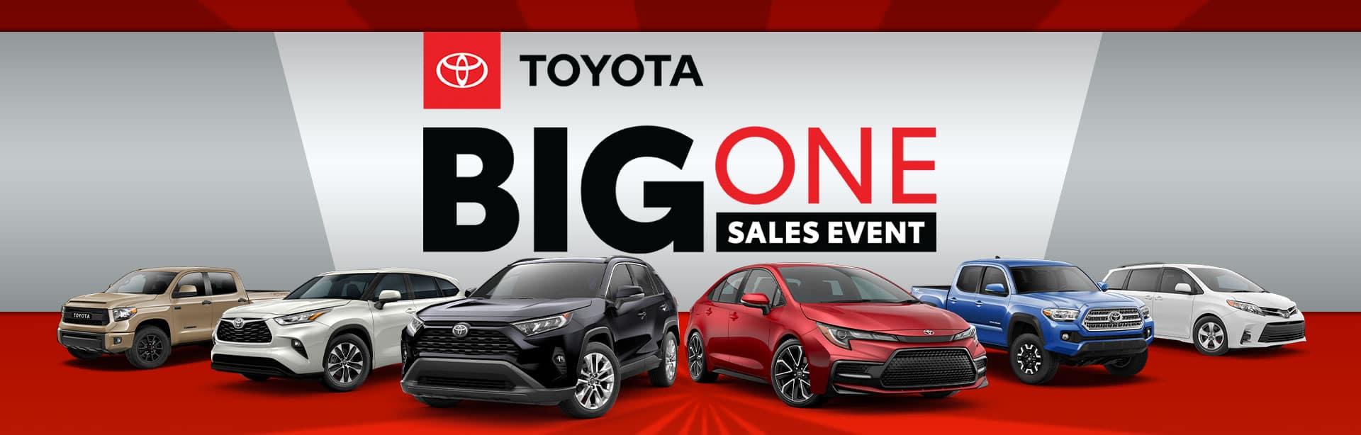 Toyota Big One Sales Event