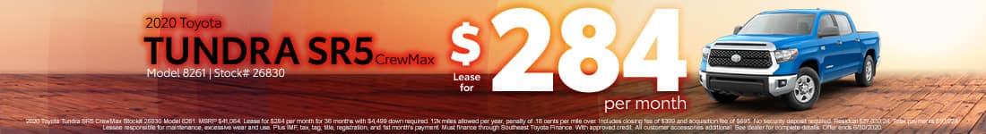 2020 Tundra June offer