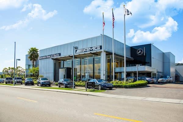 Mercedes Benz of Marin Storefront