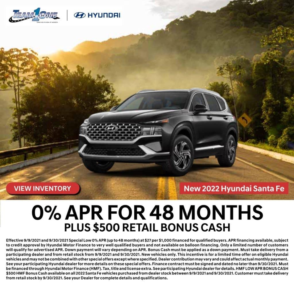 New 2021 Hyundai Santa Fe