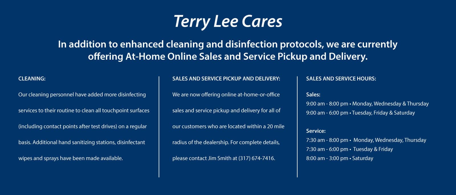 Terry Lee cares