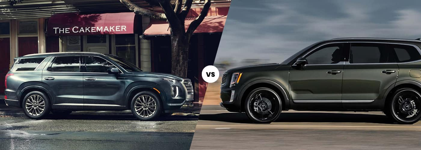 2020 Hyundai Palisade vs. 2020 Kia Telluride