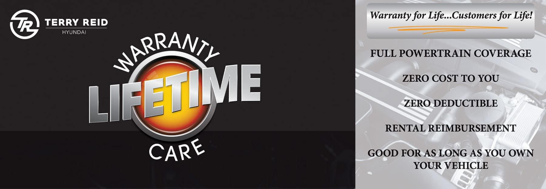 Lifetime Warranty Care