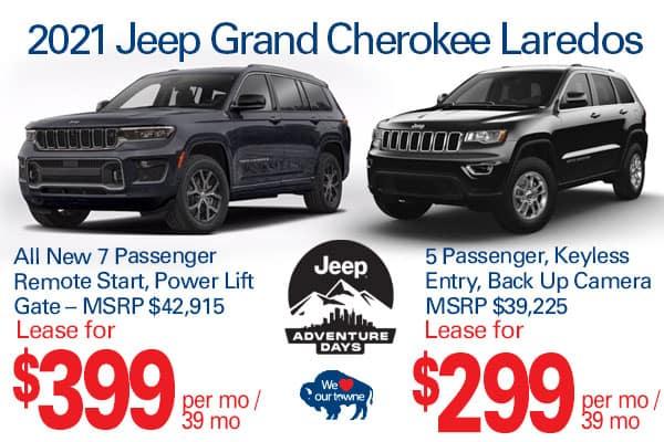 2021 Grand Cherokee Laredo