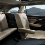 Toyota Highlander cabin seating