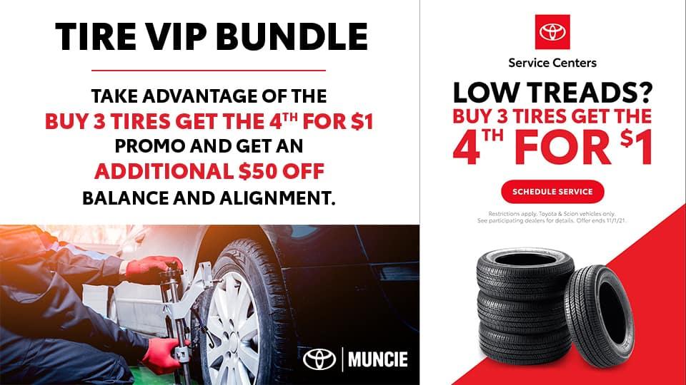 Toyota Tire Sales Event – Website – Toyota of Muncie