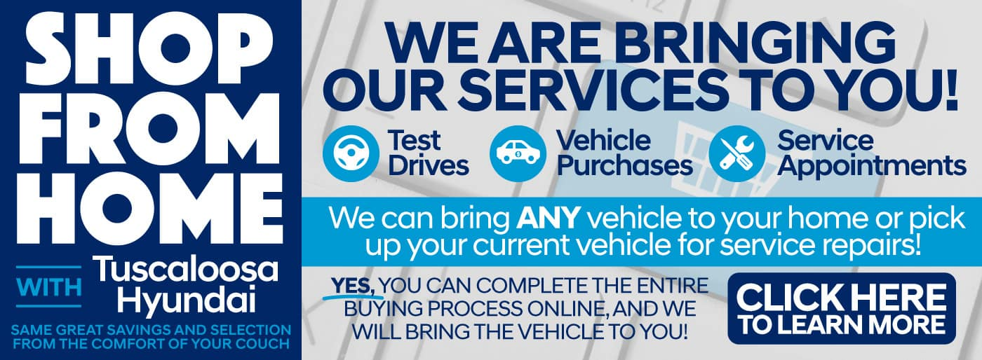 We Are Bringing Our Services To You - Test Drives   Vehicle Purchases   Service Appointments - Click Here To Learn More