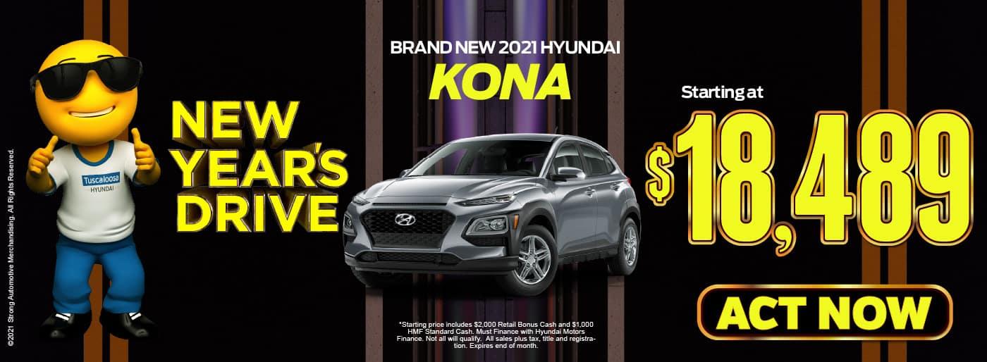 2021 Hyundai Kona starting at $18,489 | view inventory