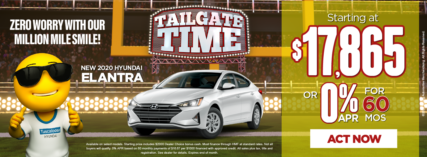 New 2020 Elantra starting at $17,865 click here to view inventory