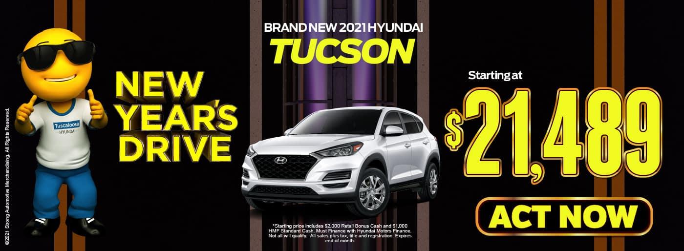 2021 Hyundai Tucson starting at $21,489 | view inventory