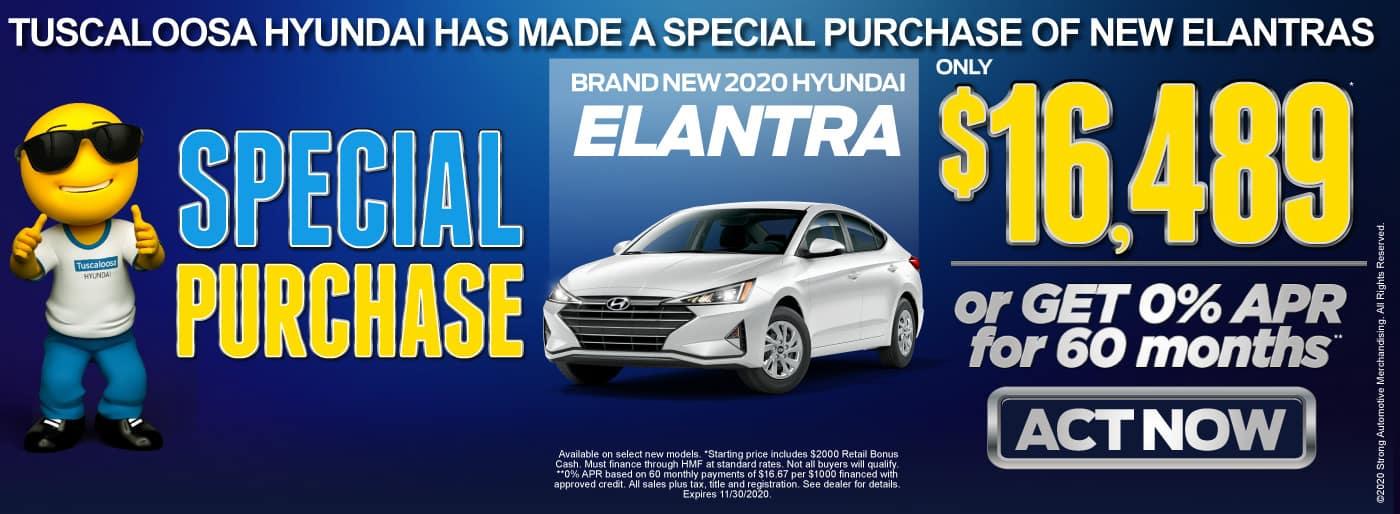 Brand New 2020 Hyundai Elantra - Only $16,489 - Act Now