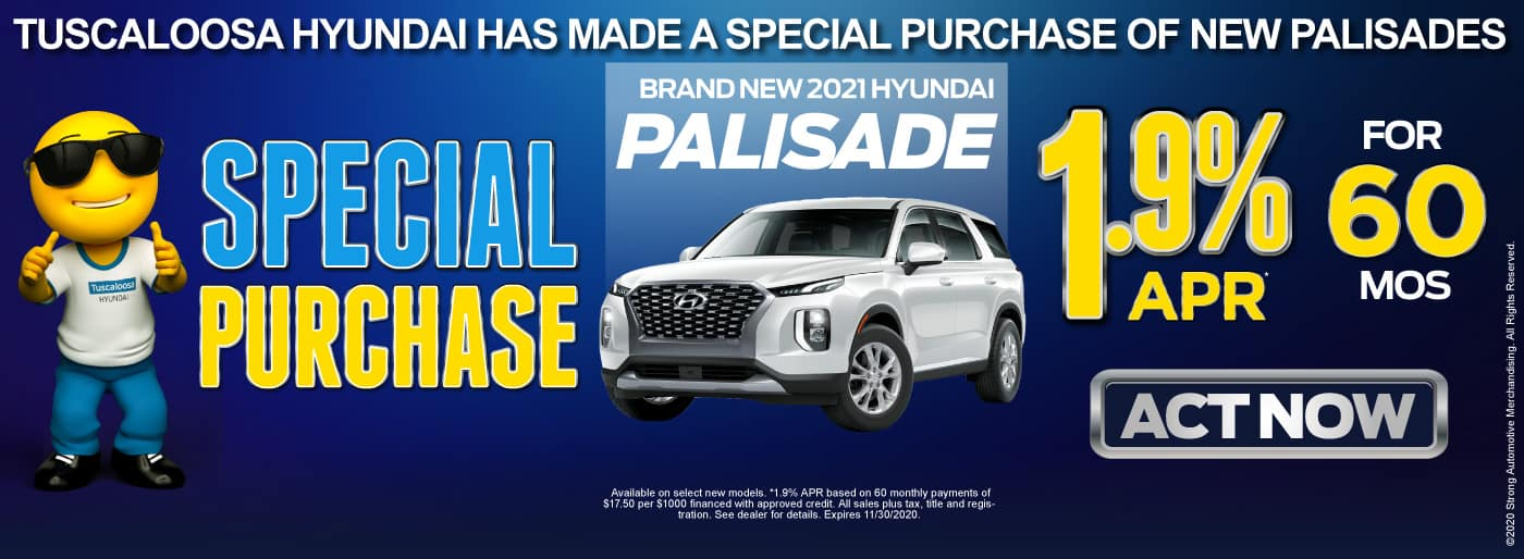 Brand New 2021 Hyundai Palisade - 1.9% APR for 60 months - Act Now