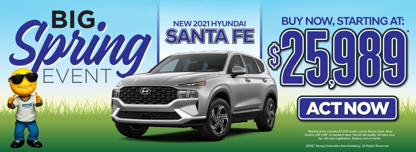 New 2021 Hyundai Santa Fe | Buy Now, Starting at $25,989 | Act Now
