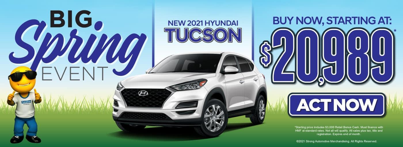 New 2021 Hyundai Tucson | Buy Now, Starting at $20,989 | Act Now