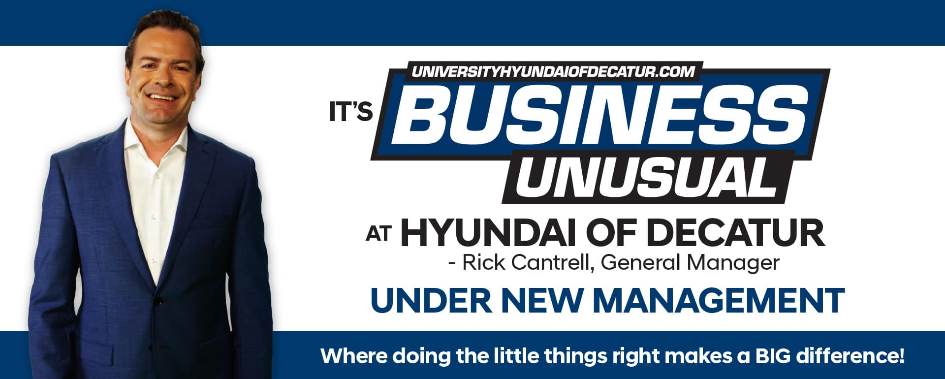 Business Unusual - Under New Management - click here to view inventory