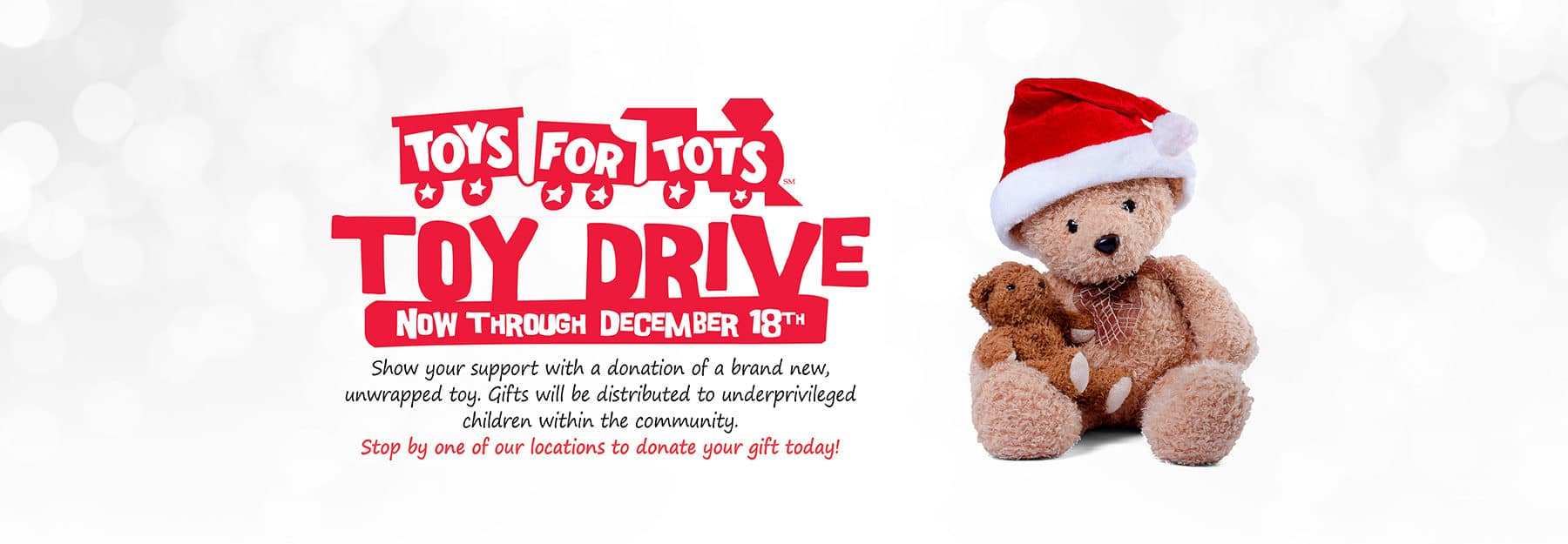 Toy for Drive - Toy for Tots