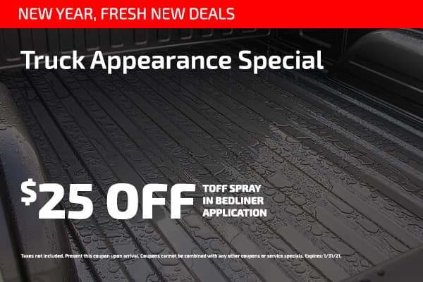 Truck Appearance Special $25 off