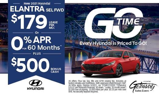 Go Time - New Hyundai 2021 Elantra