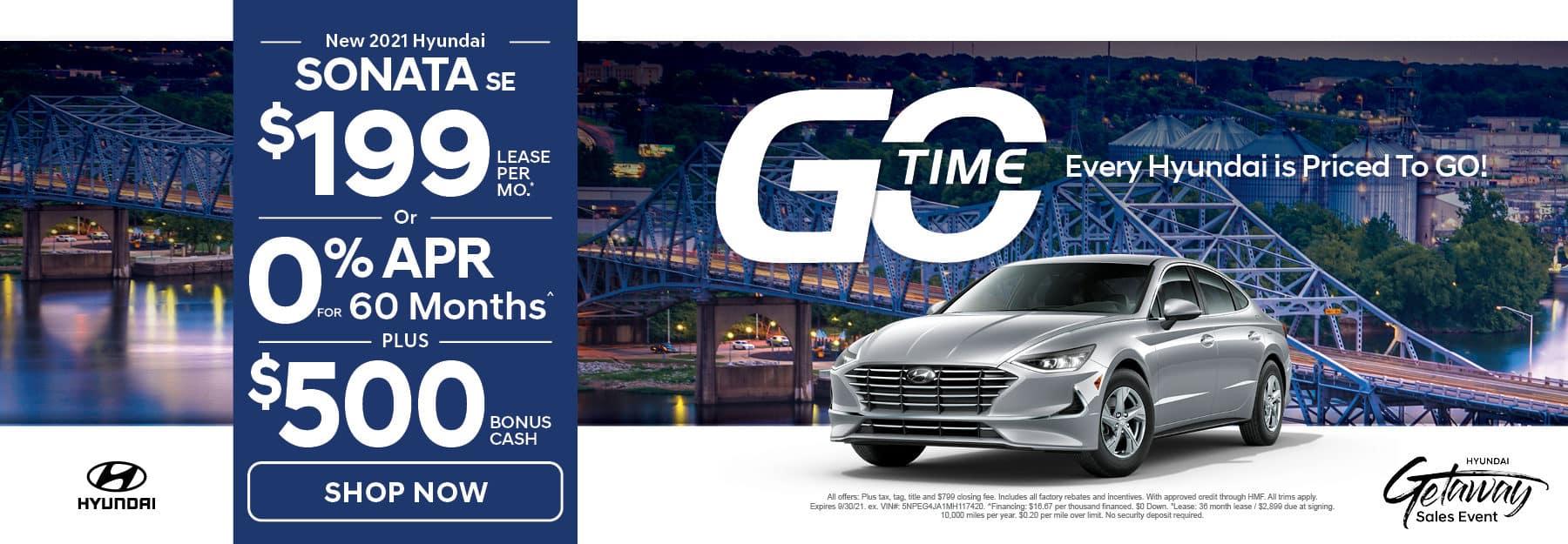 Go Time - New 2021 Hyundai Sonata