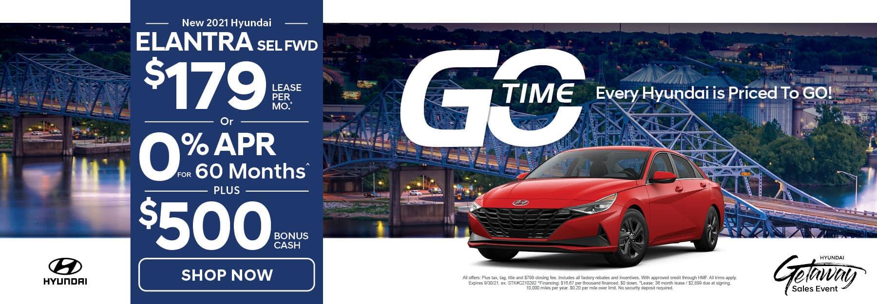 Go Time - New 2021 Hyundai Elantra