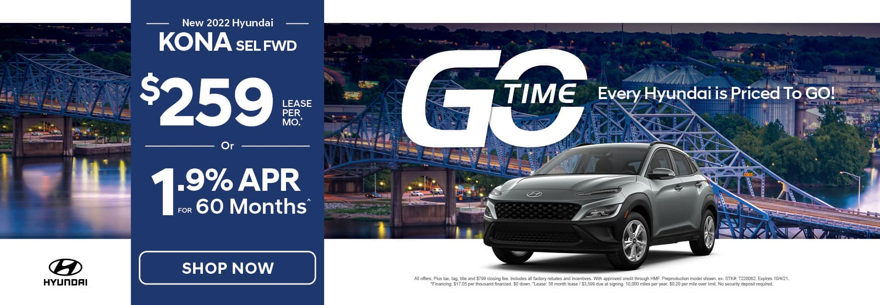 Go Time - New 2022 Hyundai Kona