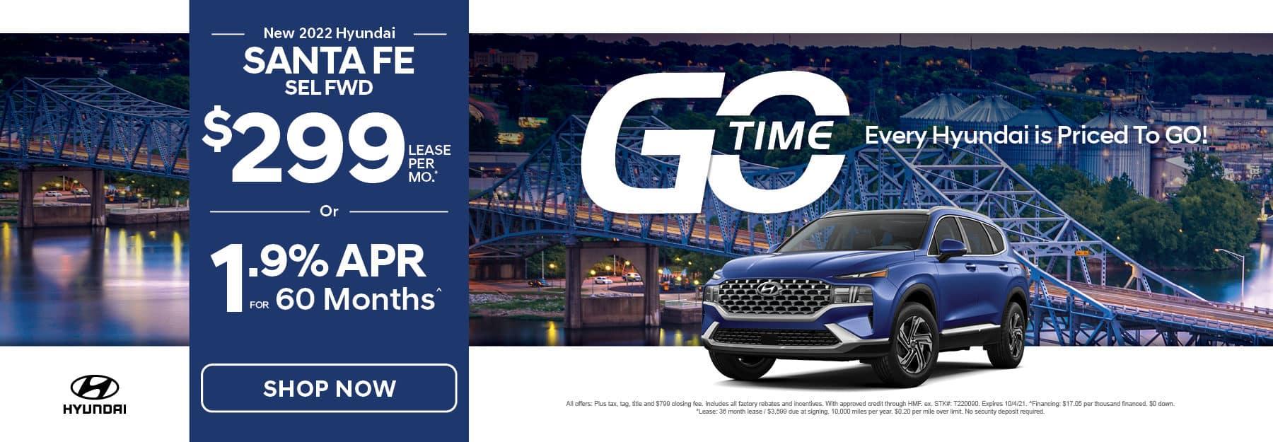 Go Time - New 2021 Hyundai Santa Fe