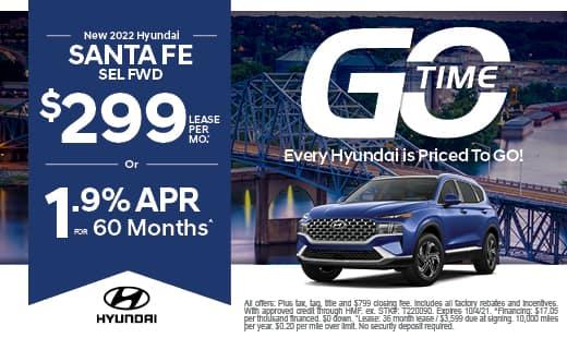 Go Time - New Hyundai 2022 Santa Fe