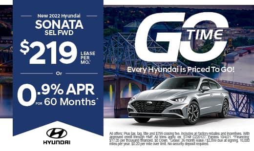 Go Time - New Hyundai 2022 Sonata