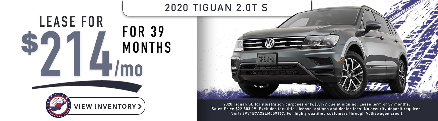 VW Fort Walton Beach February 2020 2020 Tiguan 1800x500