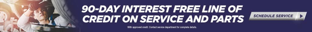 Service & Parts Credit Offer