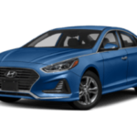 2019 Hyundai Sonata - angled