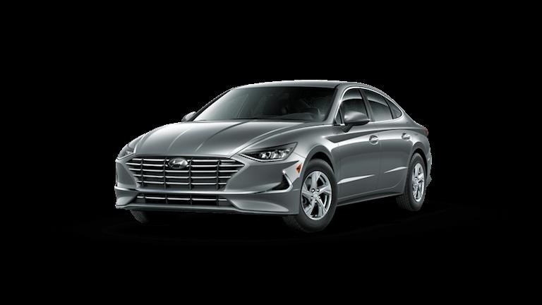 A silver 2020 Hyundai Sonata SE