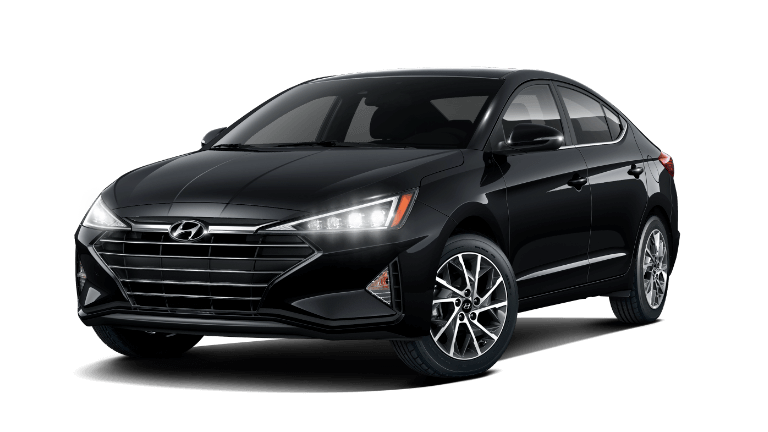 2020 Hyundai Elantra Limited - Phantom Black