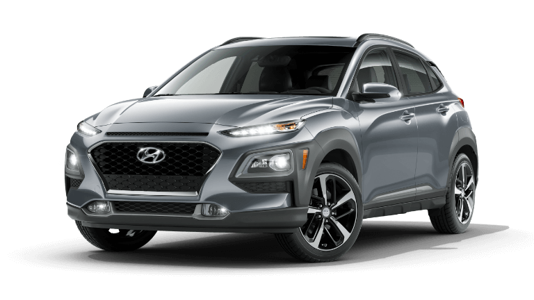 2021 Hyundai Kona Limited - Sonic Silver