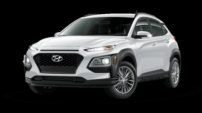 2021 Hyundai Kona SEL - Chalk White