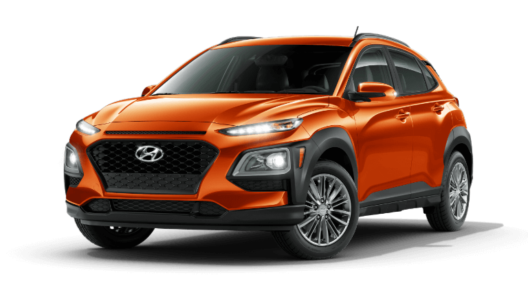 2020 Hyundai Kona SEL - Sunset Orange
