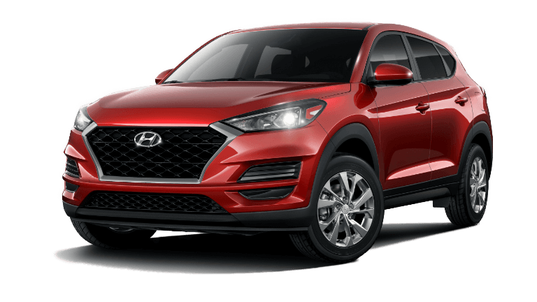 2020 Hyundai Tucson SE - Gemstone Red
