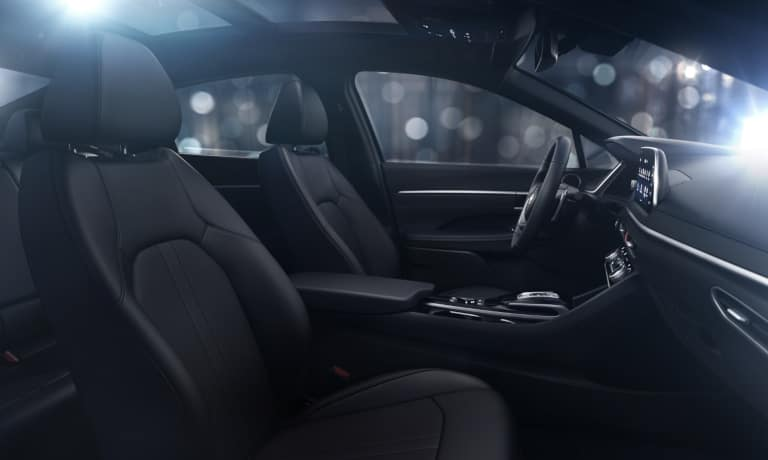 The front seats on the 2020 Hyundai Sonata