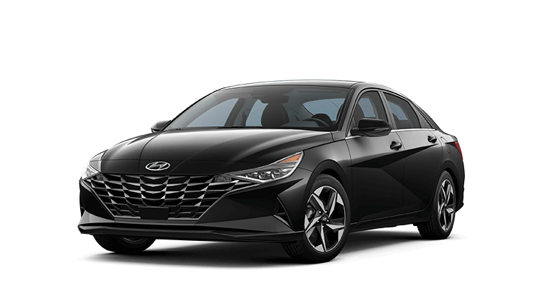 2021 Hyundai Elantra Limited - Black