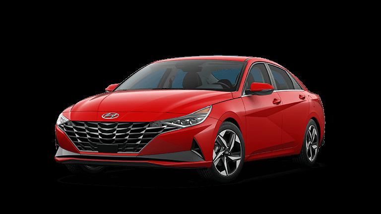 2021 Hyundai Elantra Limited - Red