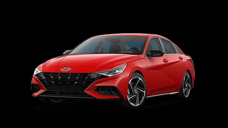2021 Hyundai Elantra N Line - Red