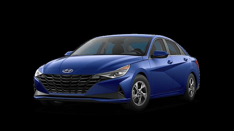2021 Hyundai Elantra SE - Intense Blue