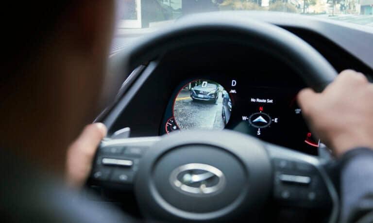 2021 Hyundai Sonata Hybrid interior safety camera